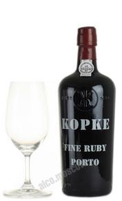 Kopke Fine Ruby портвейн Копке Файн Руби