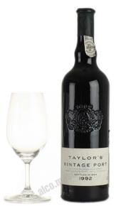 Taylors Vintage Port 1992 Портвейн Тейлорс Винтаж Порт 1992