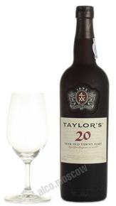 Taylors 20 year old Tawny Port Портвейн Тейлорс Тони Порт 20 лет