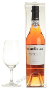 Churchills White Port Dry Aperitif портвейн Черчилльс Уайт Порт Драй Аперитив