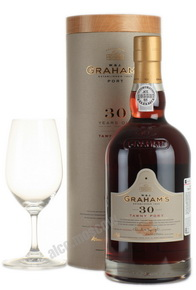 Grahams 30 years old Портвейн Грэмс 30 лет