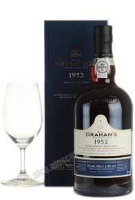 Grahams Symington Family Estate 1952 портвейн Грэмс Симингтон Фемили Эстейт 1952 в д/у