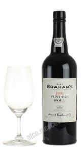 Grahams Vintage Port 1991 портвейн Грэмс Винтаж Порт 1991
