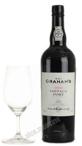 Grahams Vintage Port 2000 портвейн Грэмс Винтаж Порт 2000