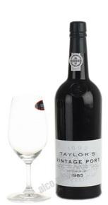 Taylors Vintage Port 1985 Портвейн Тейлорс Винтаж Порт 1985