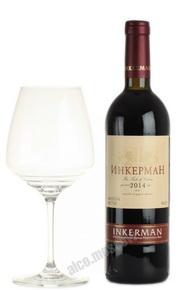 Inkerman 2014 полусухое красное Российское вино Инкерман 2014 полусухое красное