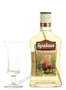 Настойка Горькая Бульбашъ Зубровая 0.2 л