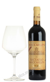 Вино Бастардо Массандра красное