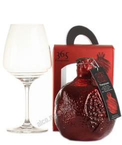 365 wines Pomegranate Армянское Вино 365 вайнс Гранатовое в п/у