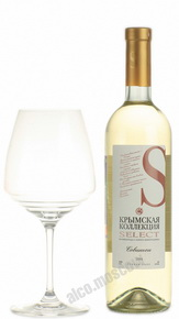 Krimskaya Kollekciya (Inkerman Select) Sauvignon Российское вино Крымская Коллекция Совиньон