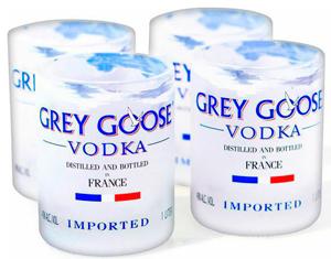 Фирменные рюмки Grey Goose (1 шт)