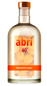 Abri водка Абрикосовая Абри 0.2l