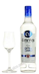 Carta Vieja Extra Claro ром Карта Виеха Экстра Кларо