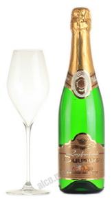 Шампанское ШГГ белое полусухое