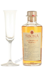 Граппа Sibona Barolo