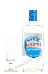 Ликер Минтту Мята Ликер Minttu Peppermint