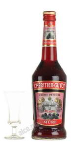 Ликер Л`Эритье-Гюйо со вкусом ежевики Ликер I`Heritier Guyot Mure