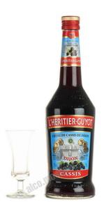 Ликер Л`Эритье-Гюйо со вкусом смородины Ликер I`Heritier Guyot Cassis