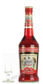 Ликер Л`Эритье-Гюйо со вкусом черешни Ликер I`Heritier Guyot Cerise