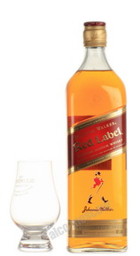 Johnnie Walker Red Label 1 l виски Джонни Уокер Ред Лейбл 1 л