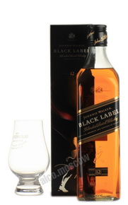 Johnnie Walker 12 years Black Label Шотландский виски Джонни Уокер 12 лет Блэк Лейбл п/у
