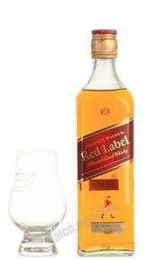 Johnnie Walker Red Label 0,5 l шотландский виски Джонни Уокер Ред Лейбл 0,5 л