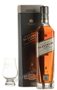 Johnnie Walker Platinium 18 years виски Джонни Уолкер Платинум 18 лет в п/у