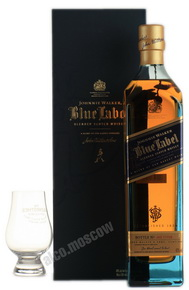 Johnnie Walker Blue Label 700 ml виски Джонни Уокер Блю Лейбл 0.7 л