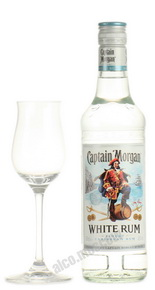 Captain Morgan White ром Капитан Морган Уайт 0.5 л