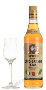 Cayo Grande Club Anejo Spiced Ром Кайо Гранде Клаб Аньехо Спайсд