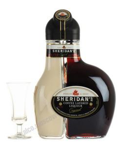 Sheridans Coffee Original 1 l ликер Шериданс Кофейный Двухслойный Оригинальный 1 л