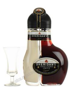 Sheridans Coffee Original 0.5 l ликер Шериданс Кофейный Двухслойный Оригинальный 0.5 л