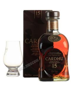 Cardhu 15 years виски Кардю 15 лет