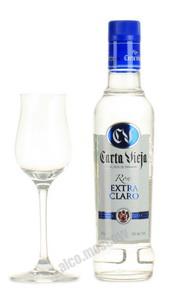 Carta Vieja Extra Panama ром Карта Вьеха Экстра Кларо 35% 0,375л Панама
