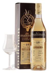Maltman Glentauchers 15 years виски Молтмэн Гленточерс 15 лет в п/у