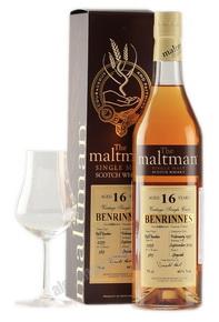 Maltman Benrinnes 16 years виски Молтмэн Бенриннес 16 лет в п/у