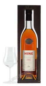 Коньяк Hine 1982 коньяк Хайн 1982 года