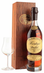 Brillet Tres Rare Heritage Grande Champagne коньяк Брийе Трэ Рар Эритаж Гран Шампань