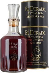 El Dorado 25 year old ром Эль Дорадо 25 летний 1980 года