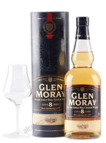 Glen Moray 8 years виски Глен Морэй 8 лет