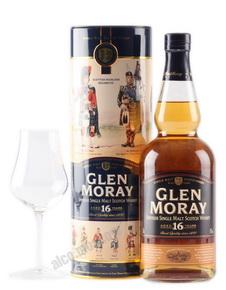 Glen Moray 16 years виски Глен Морэй 16 лет