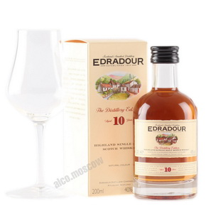 Edradour 10 years 200 ml виски Эдраду 10 лет 0.2 л