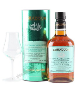 Chardonnay Cask Matured 2003 виски Эдраду 2003 года
