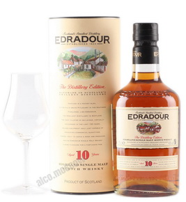 Edradour 10 years виски Эдраду 10 лет