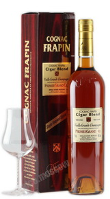 Frapin Cigar Blend Grande Champagne Premier Grand Cru Du Cognac (with box) коньяк Фрапэн Сигар Блэнд Гранд Шампань Премье Гран Крю дю Коньяк (в коробке)