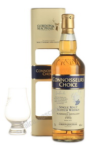 Bladnoch 1993 Gordon & McPhail 0,7l Виски Блэднок 1993г. Гордон & МакФейл 0,7л в п/уп