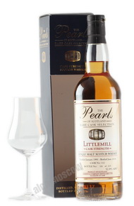 Littlemill Pearls 1991 years Виски Литтлмил Перлс 1991 года в п/у