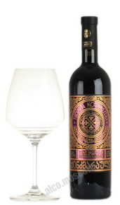Taina Kolhidi Kindzmarauli грузинское вино Тайна Колхиды Киндзмараули