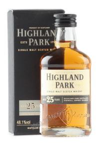 Highland Park 25 years 50 ml виски Хайленд Парк 25 лет