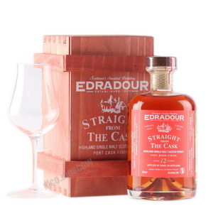 Edradour 10 years 200 ml виски Эдраду 10 лет 0.2 л